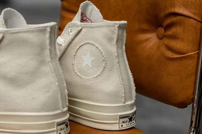 converse chuck 70 hi ox upcycled recycled canvas 167750C 167749C egret natural release date info photos price