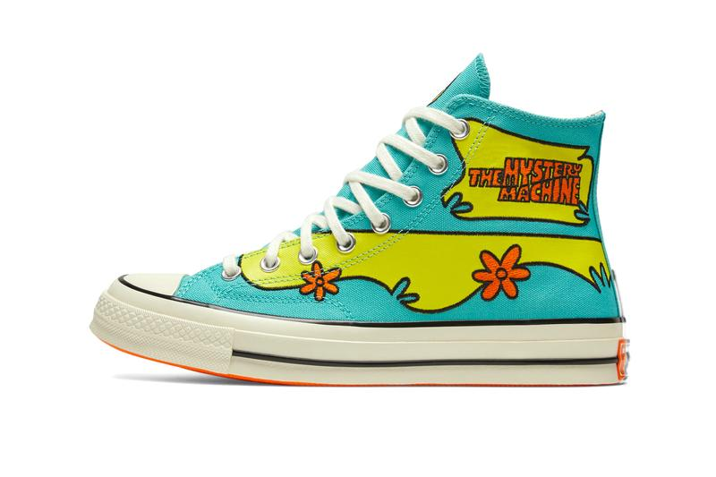 Converse x Scooby-Doo Chuck 70 Release Info the mystery machine black Pool Blue/Sulfur Spring/Egret 169082C 169072C