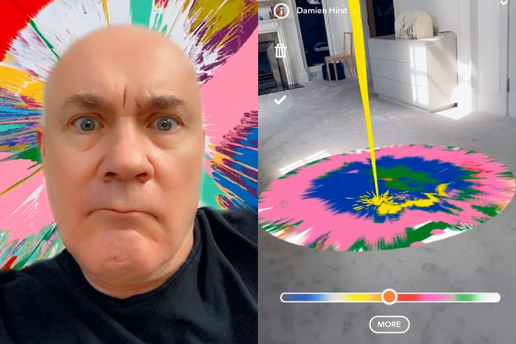 Damien Hirst Makes Butterfly Rainbow Artwork For Nhs Hypebeast