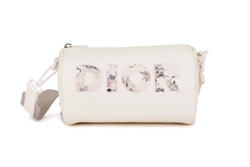 Daniel Arsham and Dior Deliver Luxe Grained Leather Roller Bag