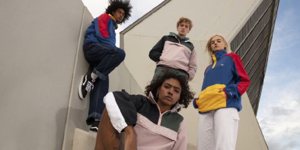 """Dickies Introduces Retro-Inspired """"Color Block"""" Collection"""