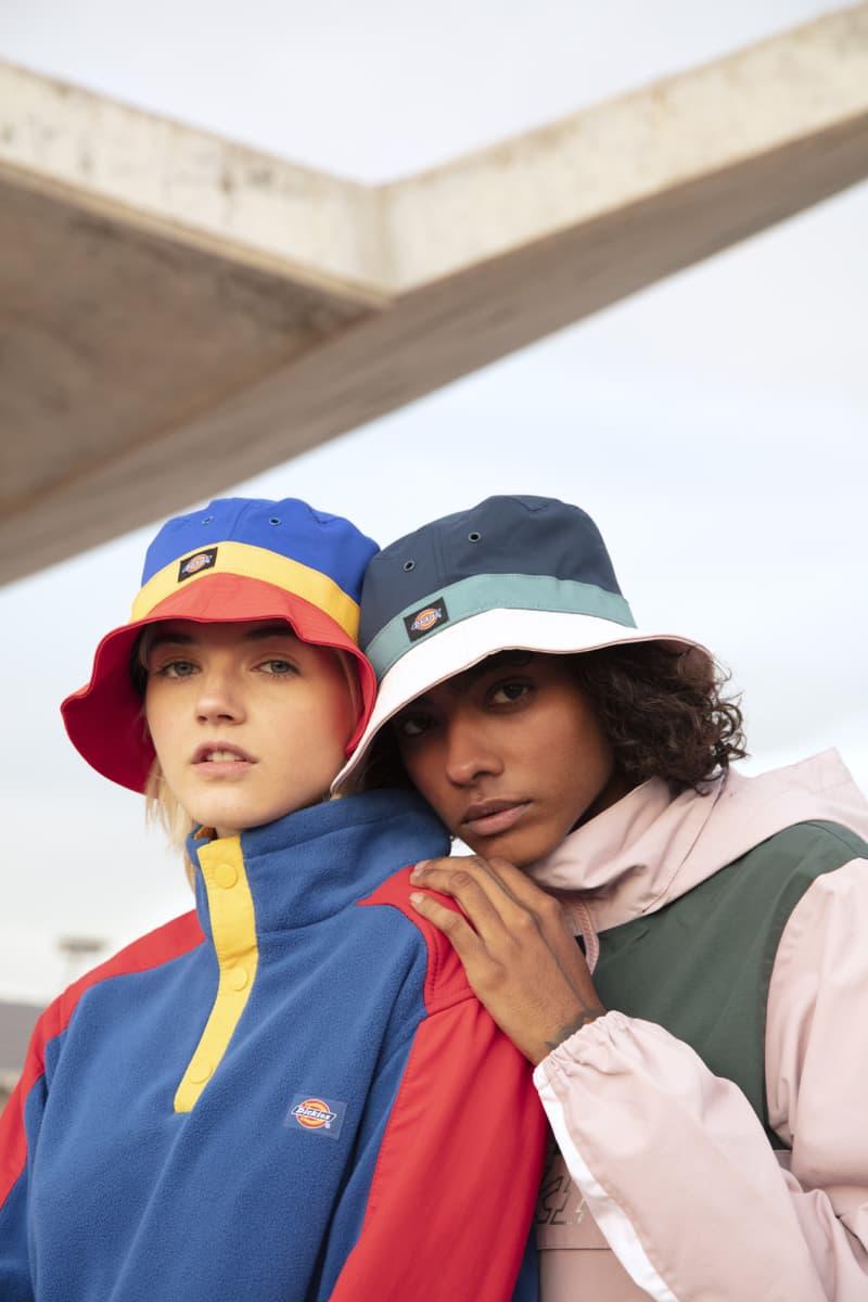 dickies life color blocking workwear spring 2020 apparel drop release retro nineties