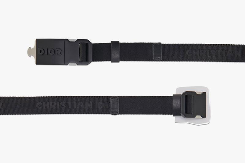 Dior Black Canvas Belt Metal Buckle Italy DIO5D77TBCKLE95Z00 24s release info