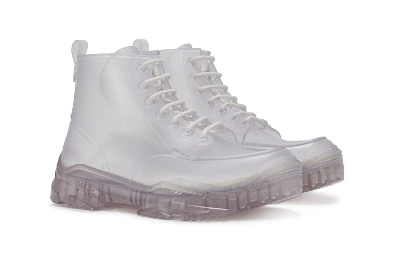 Transparent High-Top Rubber Boots SS20