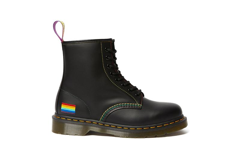 Dr. Martens 1460 Pride Boot Release Information First Look LGBTQIA+ LGBT Pride Month Trevor Project Rainbow Flag Air Cushioned Sole Goodyear-welted