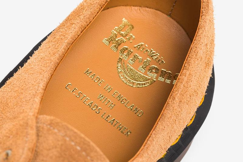 Dr Martens 1461 Des Oasis Suede Derby Shoes the Smiths Archive Leather menswear streetwear footwear spring summer 2020 collection united kingdom rock bands british england liam gallagher morrisey