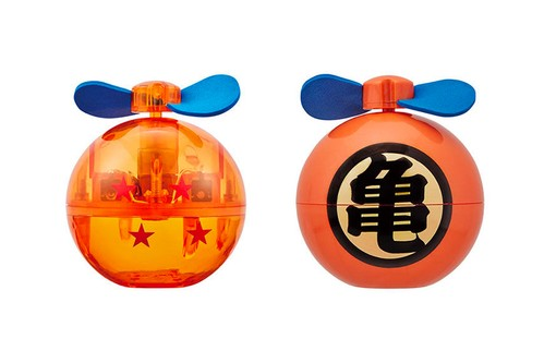 Keep Cool With These 'Dragon Ball' Gashapon Fans
