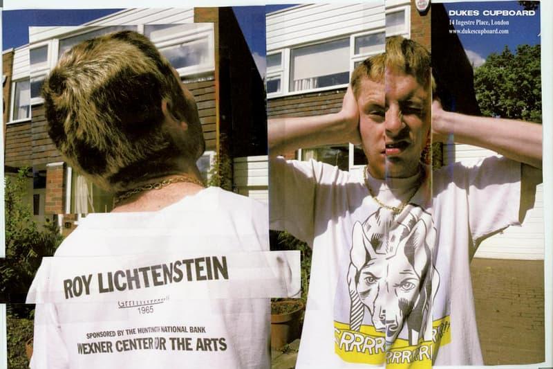 Dukes Cupboard Vintage Art T-Shirt Editorial Tee Lookbook 1990s Cézanne Sarah Lucas Roy Lichtenstein Starry Night Vincent Van Gogh Picasso Keith Haring Drop Buy Y2K
