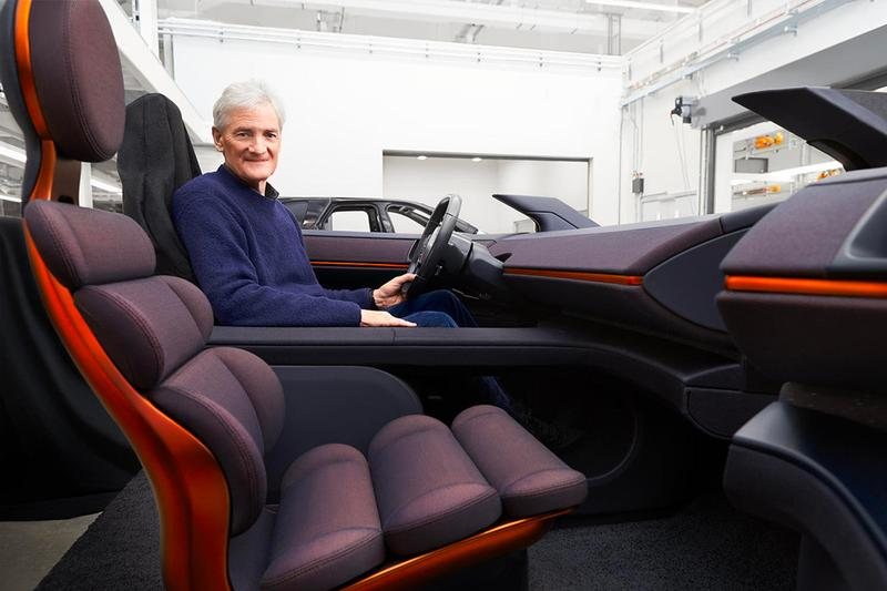 sir james dyson the times interview electric vehicle car ev cancelled project unveil