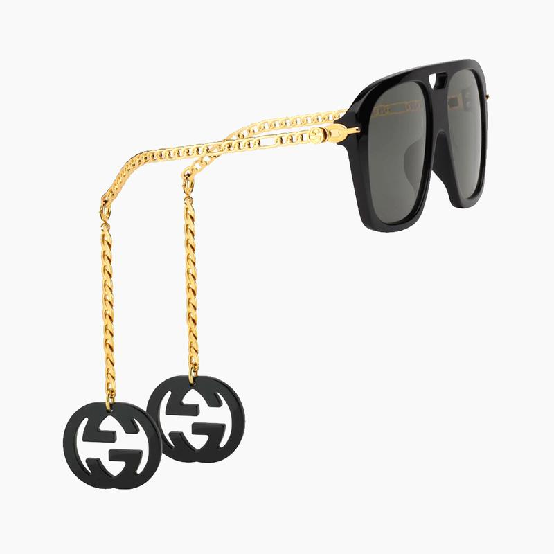 Gucci Square Sunglasses With Charms Release 2020 Where to buy Price