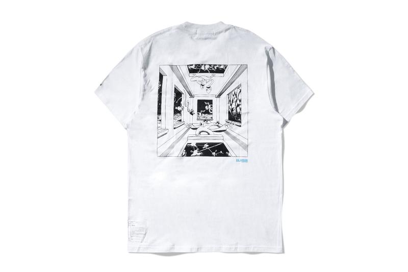 Elhaus Spring Summer 2020 Empty room Collection Lookbook Dwiky KA Sci-fi Waffle Utility Jackets Printed Collared Short Sleeves T-shirts Long Sleeves Graphic