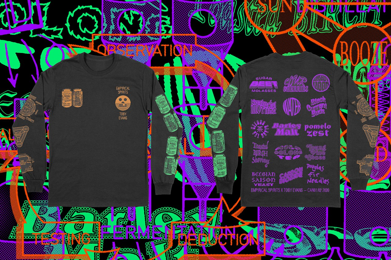 Empirical spirits copenhagen toby evans 1tooth palace adidas assid details cans 01 02 t-shirt release information buy cop purchase rita's dining bodega london