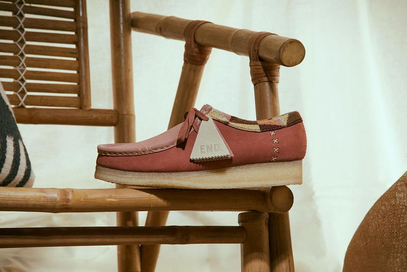 end clothing clarks wallabee artisan craft pack release information details boot high top low top buy cop purchase footwear shoes sneaker collaboration