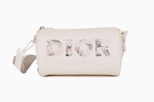 Daniel Arsham x Dior Grained Leather Roller Bag