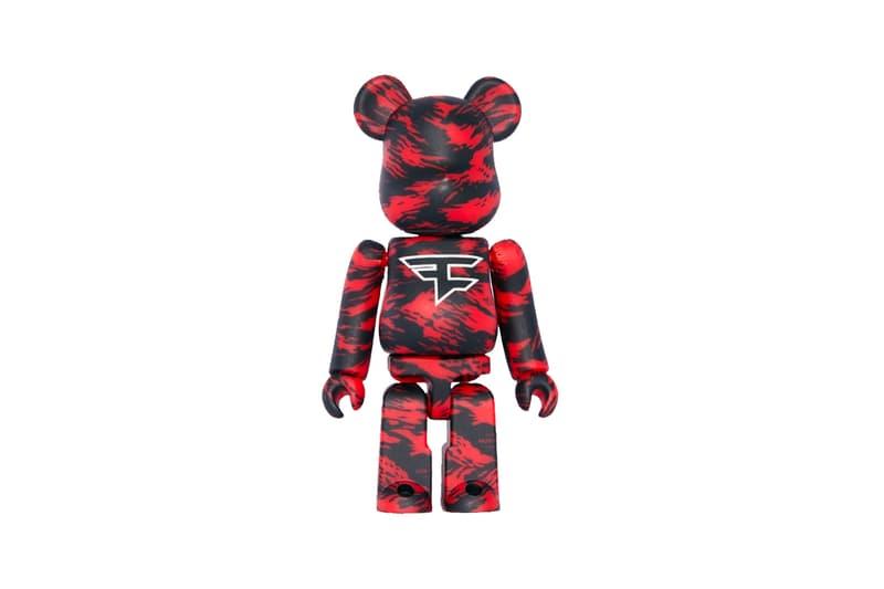 FaZe Clan Medicom Toy BE@RBRICK Release info buy price tiger camo red black