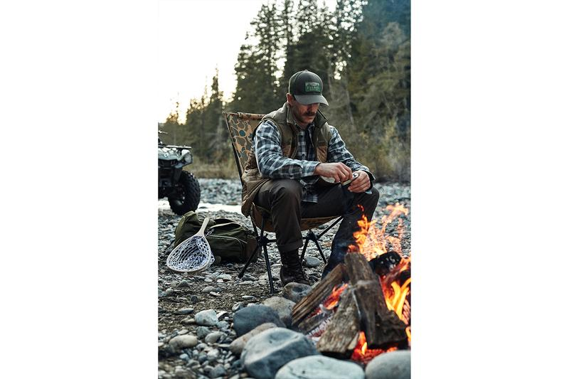Filson x Helinox Tactical Camping Collection Info chairs Cot One Convertible Sunset Chair Table One Hardtop