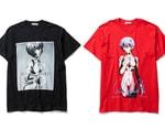 F-LAGSTUF-F Preps Rei Ayanami-Centric Evangelion T-Shirt Capsule