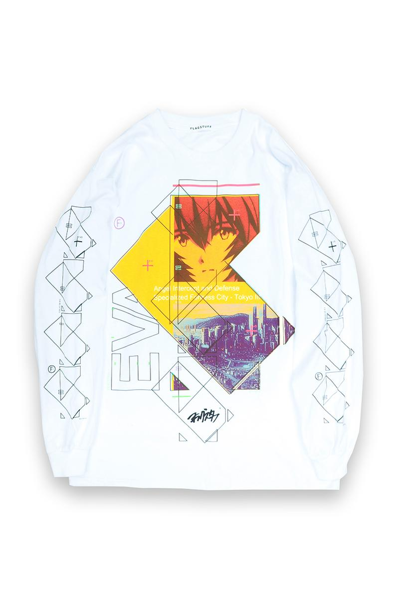 F-LAGSTUF-F x 'Evangelion,' BEAMS T Collaboration tee shirts Rei Ayanami collection 3 1 redo movie june 2020