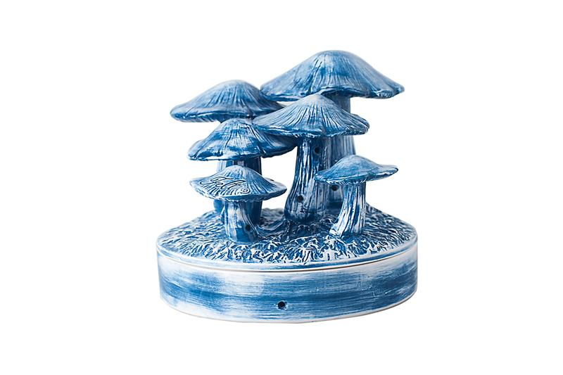 For Every Living Thing FELT x YEENJOY STUDIO Mushroom Incense Chamber Release Information Homeware Smells Scents Design How to Buy Stay at Home Indoors Calm Cap of Shrooms Hand Made Painted Ceramic