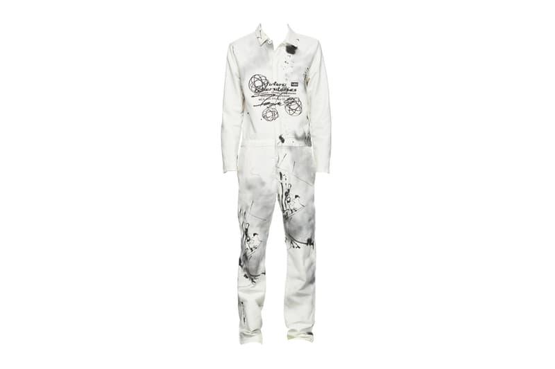 Futura Off White Boiler Suit Release Info Buy Price White Virgil Abloh