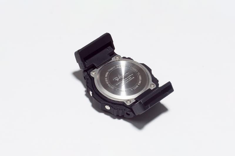 Ron Herman x Casio G-Shock GWX-5700 Release Black Tide Graph Nylon Band LCD Display