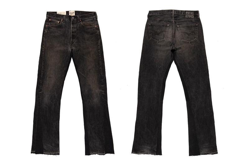 GALLERY DEPT. La Flare Orange Black Denim Release Info Levis 501 Jeans