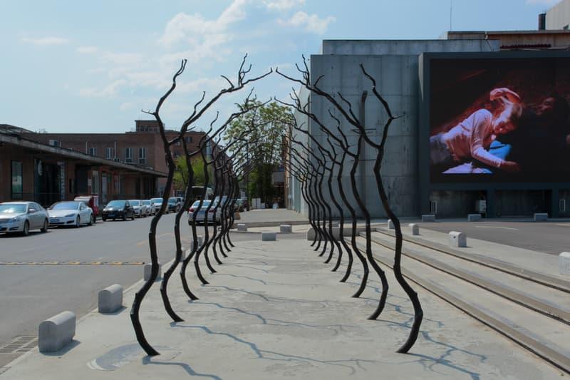 gallery weekend beijing art fair festival artworks public outdoor installation sculpture