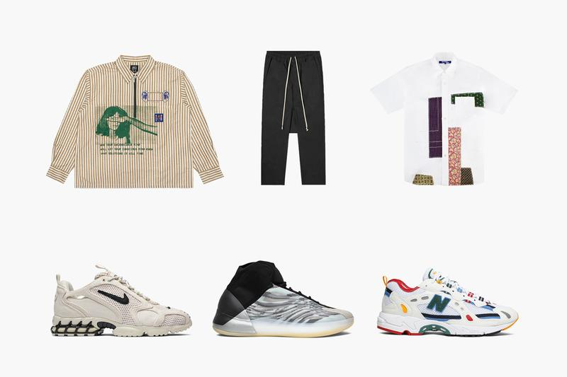 GOAT streetwear Brain Dead Long Sleeve Rick Owens Cropped Pants Junya Watanabe Short-Sleeve Patchwork Air Jordan 5 Retro Fire Red Aimé Leon Dore x 827 White Yeezy Basketball Quantum Stussy x Nike Air Zoom Spiridon Caged