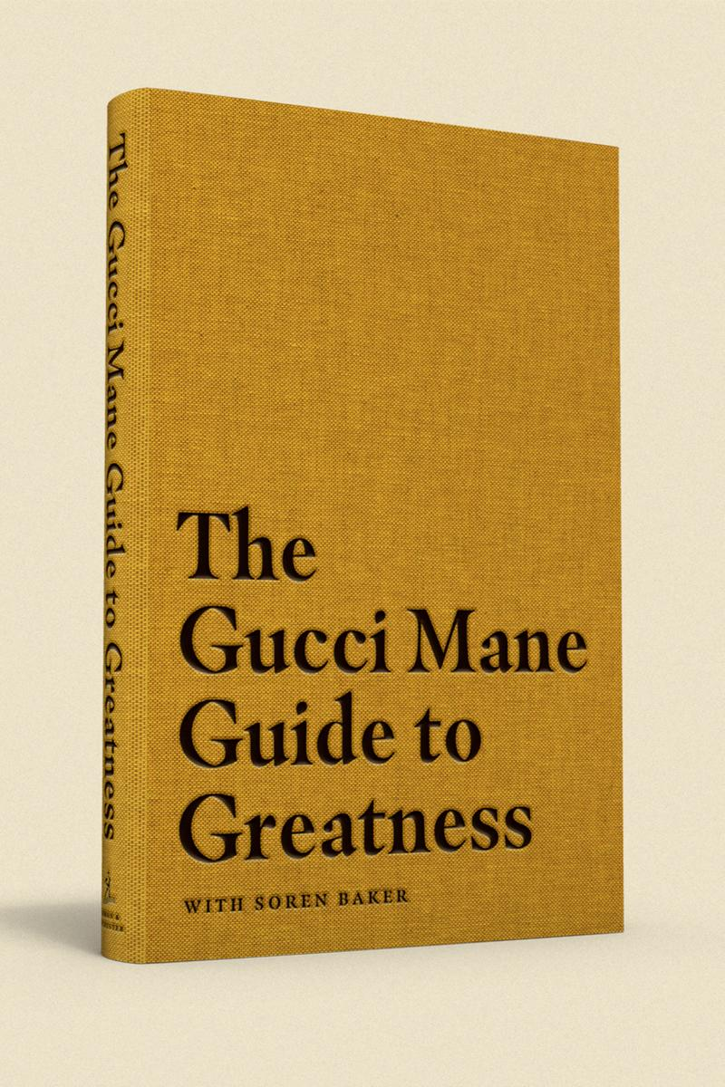 gucci mane guide to greatness book release simon and schuster