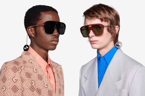 Dangling Charms Define Gucci's Latest Square Sunglasses Style