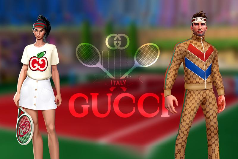 Gucci Tennis Clash Collaboration Announcement Info Tournament Wildlife