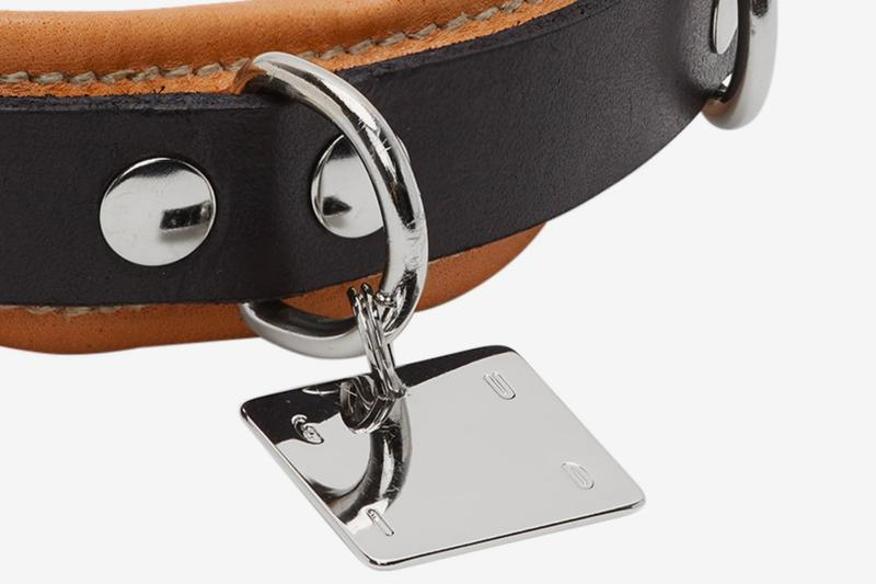 Guidi Leather Dog Collar Release Info Black Buy Price