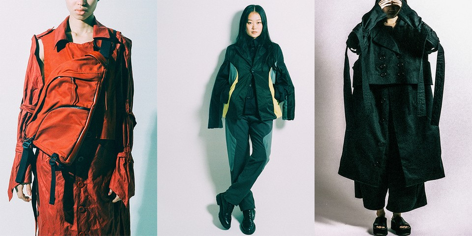 GUTTERTM SS20 Renders Paneled Suits and Oversized Workwear