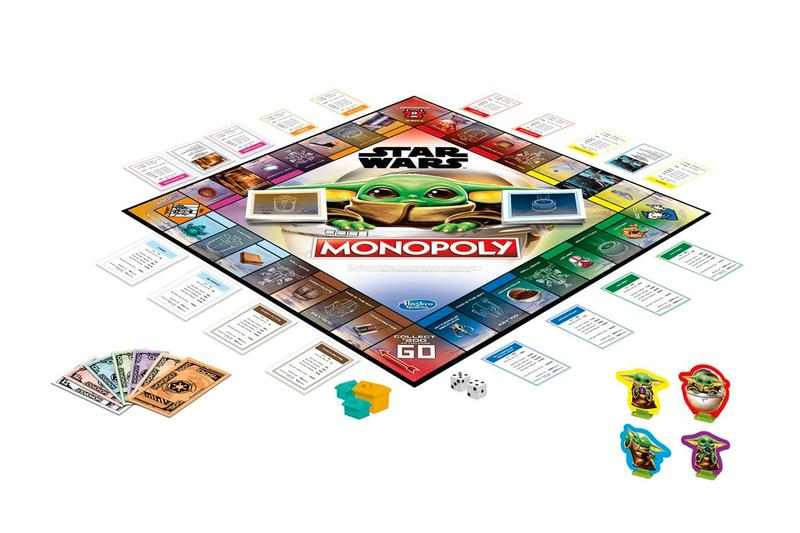 'The Mandalorian' Baby Yoda Monopoly Set star wars may the fourth be with you release info children's board game disney plus This Monopoly: Star Wars The Child edition