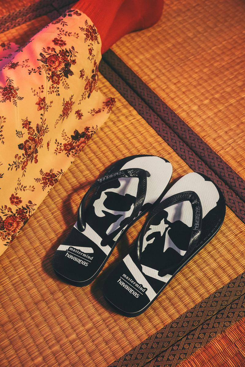brazil japan tradi zori flip flop sandals beach rubber square toe skulls black grey mmj masaaki honma
