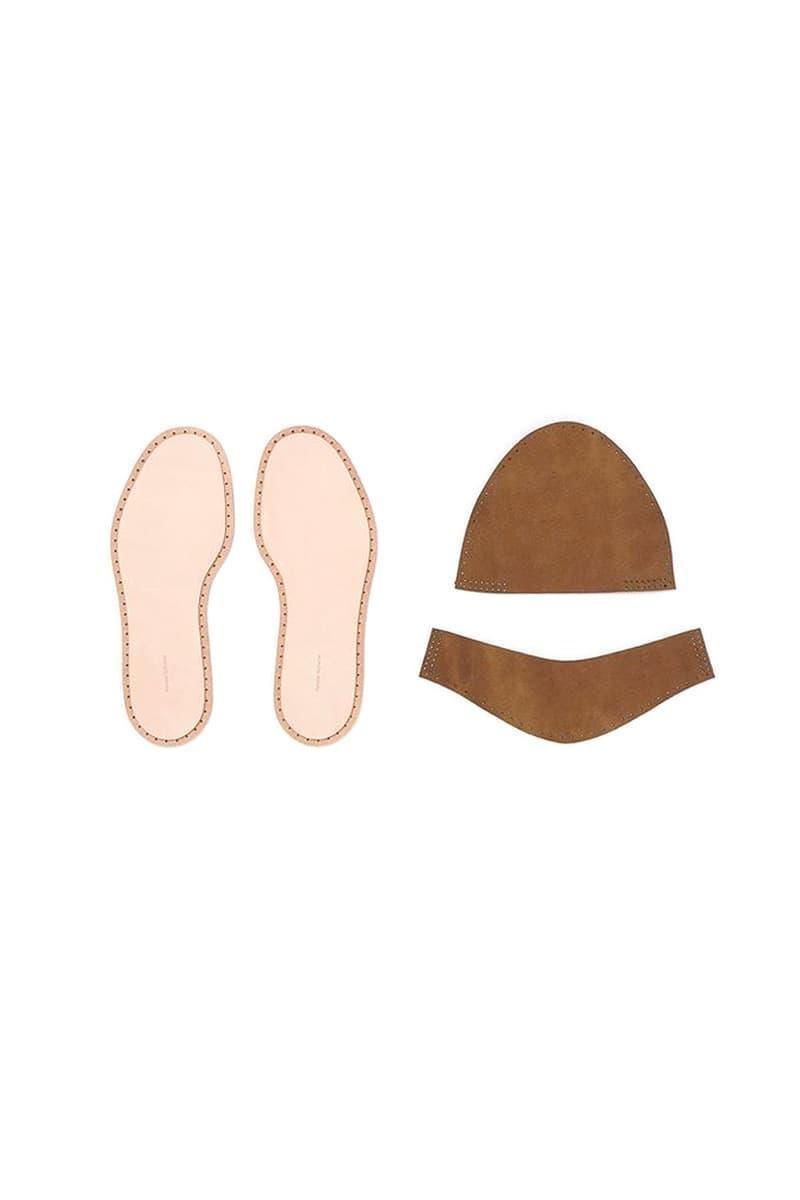 Hender Scheme Leather DIY Home Slippers menswear streetwear spring summer 2020 collection japanese designer leather suede nubuck slides do it yourself craft