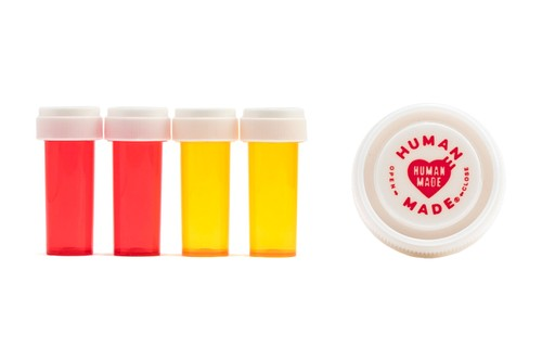 HUMAN MADE Releases a Branded Pill Case Set