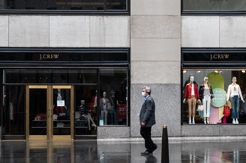 J.Crew Files Chapter 11 Bankruptcy $400M USD COVID-19 Coronavirus Retail Sector Business News Protection Fashion United States U.S. Stores