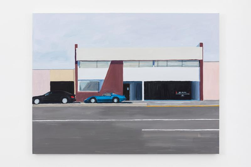 jean philippe delhomme galerie perrotin los angeles language exhibition artworks paintings installations