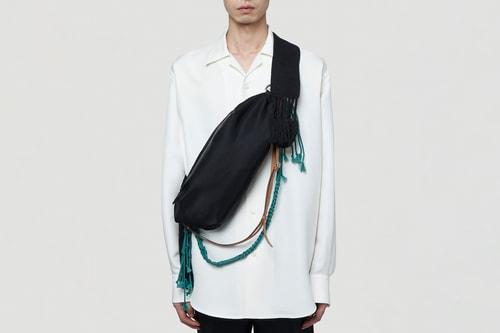 Jil Sander Releases Minimalistic Belt Bag With Textural Detailing