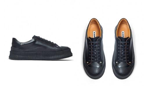 Jil Sander Drops New Chunky Sole Sneakers