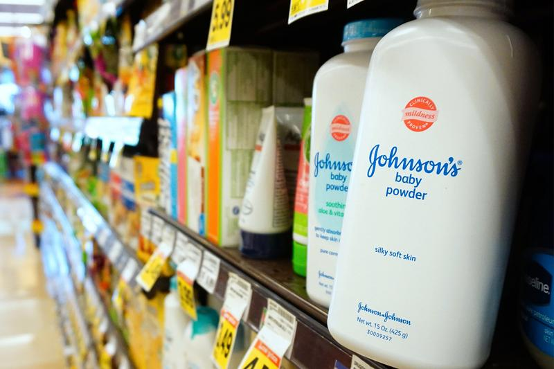 Johnson & Johnson Baby Powder Discontinued carcinogen asbestos talc legal lawsuits