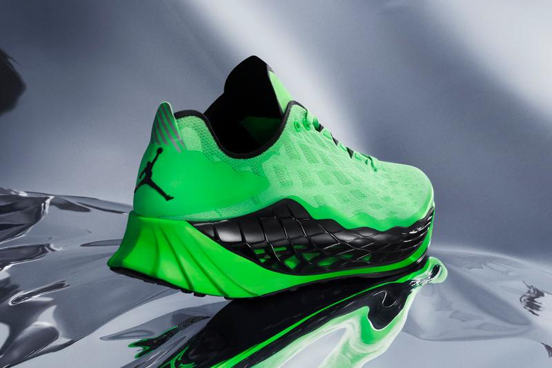 jordan trunner ultimate training running shoe black volt green release date info photos price