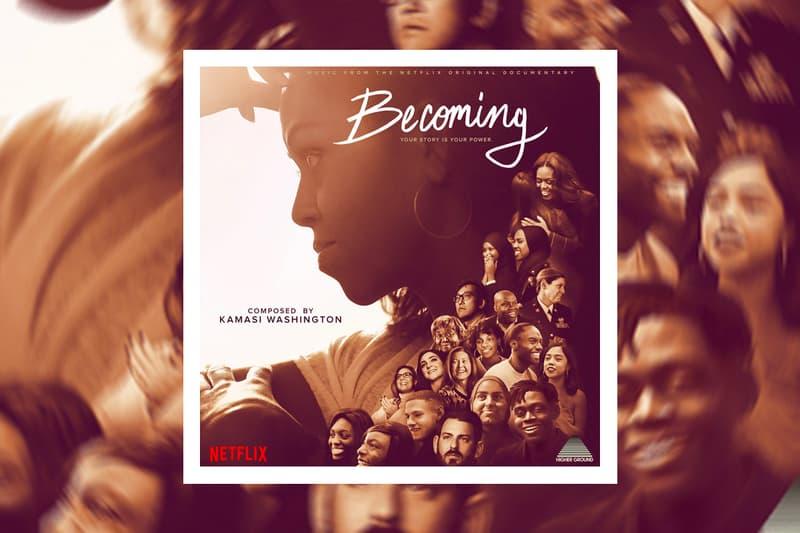 Kamasi Washington Becoming Soundtrack Stream music jazz netflix Michelle Obama score documentary original Young Turks Recordings Ltd songs tracks