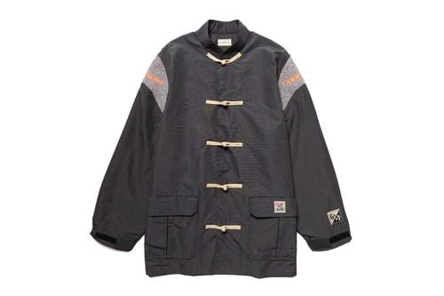KAPITAL Crafts Functional 60/40 Cloth Kung-Fu Mountain Parka