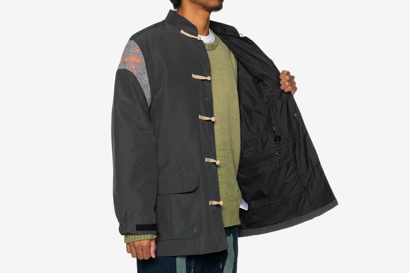 KAPITAL 60/40 Cloth Kung-Fu Mountain Parka Release jackets haven Tokyo Japan Japanese Folk Clothing workwear Chinese tang suit outerwear