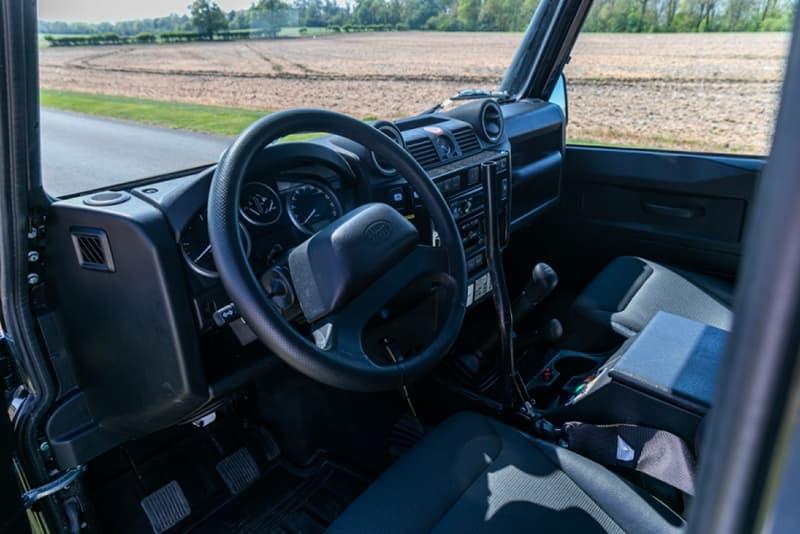 Silverstone Auctions Spectre Landrover Defender Info James Bond 007 110 SUVs offroading cars automotive Bowler Motorsport