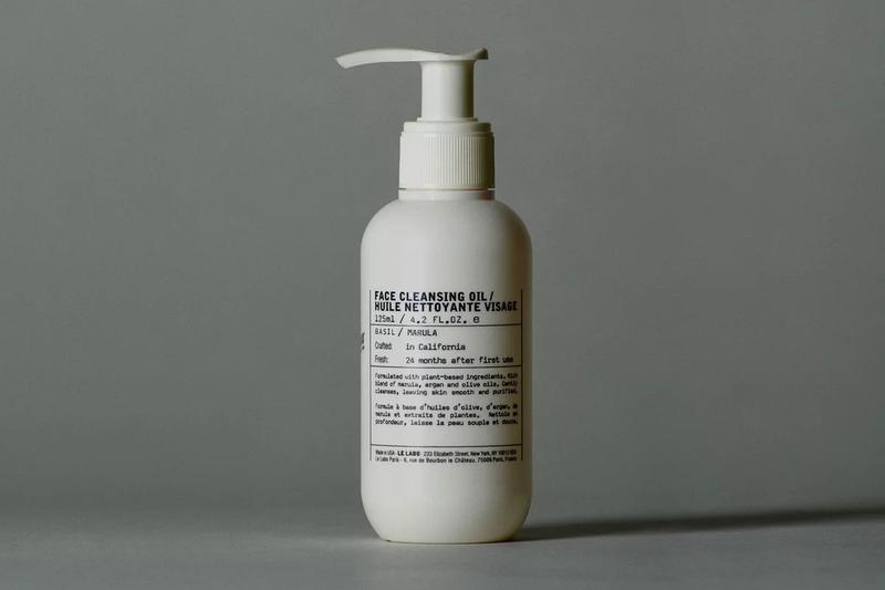 Le Labo Basil Face Cleansing Oil and Lotion fragrances self care scrub