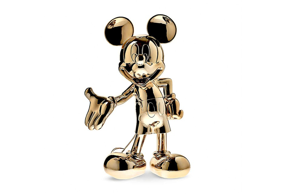 Leblon Delienne Chrome Mickey Mouse Figurines Release Hypebeast