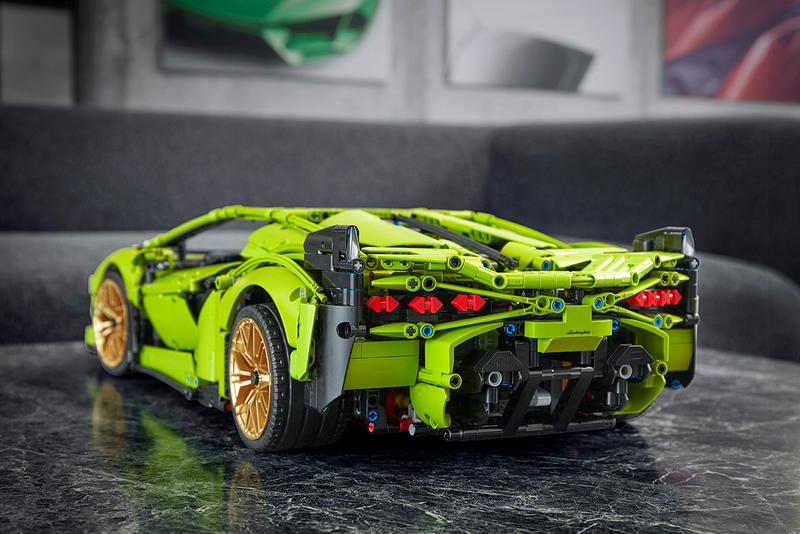lego lamborghini automobili sian hypercar supercar hybrid scale model 3696 pieces release details buy cop purchase